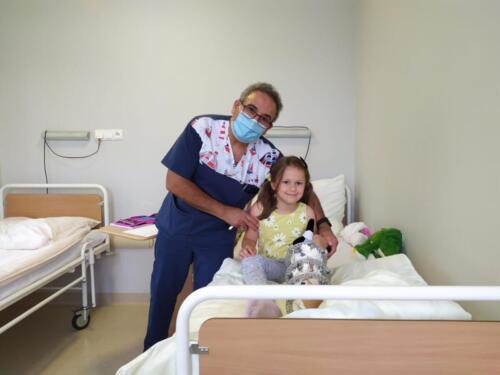 Natalka z doktorem Shadim